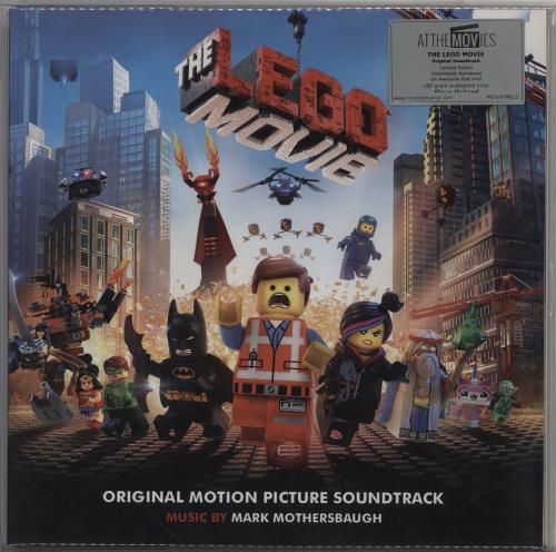 Original Soundtrack The Lego Movie - Red Vinyl vinyl LP album (LP record) UK OSTLPTH754657