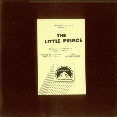 Original Soundtrack The Little Prince acetate US OSTATTH528228