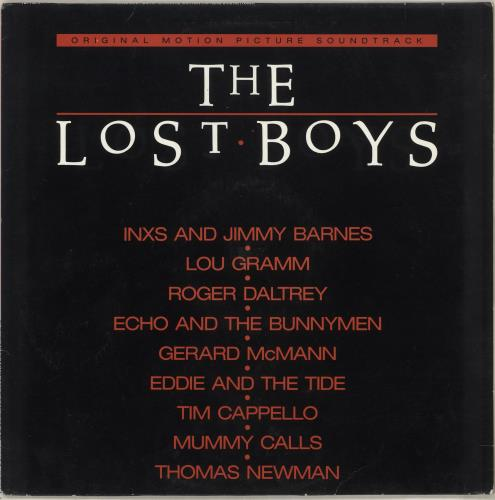 Original Soundtrack The Lost Boys vinyl LP album (LP record) German OSTLPTH130527