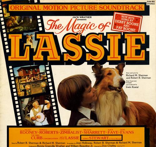 Original Soundtrack The Magic Of Lassie vinyl LP album (LP record) UK OSTLPTH563963