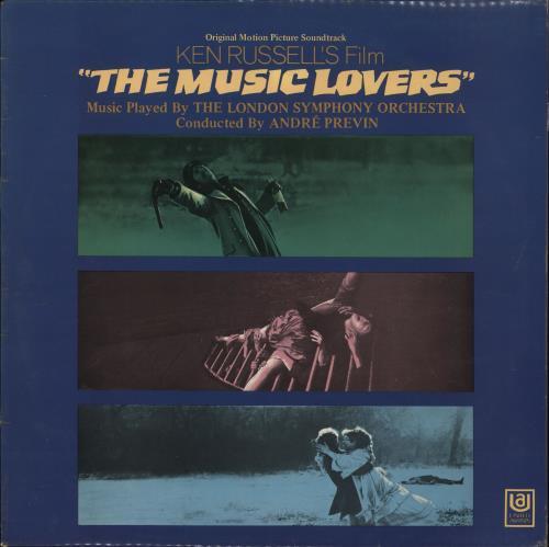 Original Soundtrack The Music Lovers vinyl LP album (LP record) UK OSTLPTH476891