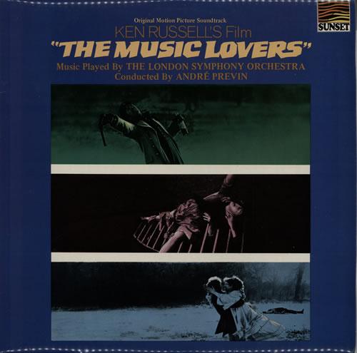 Original Soundtrack The Music Lovers vinyl LP album (LP record) UK OSTLPTH567647