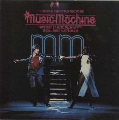 Original Soundtrack The Music Machine vinyl LP album (LP record) UK OSTLPTH621788