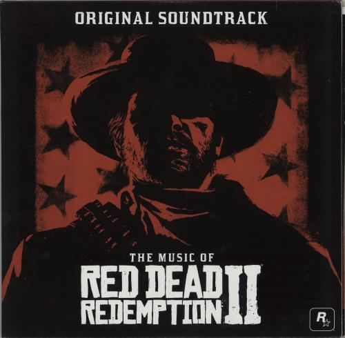 Original Soundtrack The Music Of Red Dead Redemption II  (Original Soundtrack)- Red vinyl 2-LP vinyl record set (Double Album) US OST2LTH752517