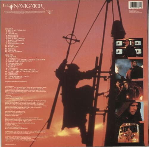 Original Soundtrack The Navigator vinyl LP album (LP record) UK OSTLPTH692876