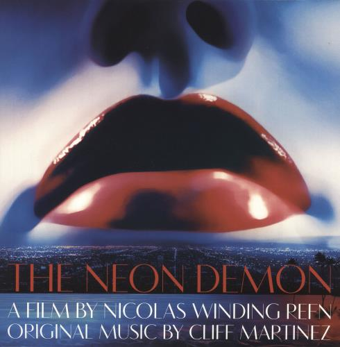 Original Soundtrack The Neon Demon - Blue and Red Vinyl 2-LP vinyl record set (Double Album) UK OST2LTH749329