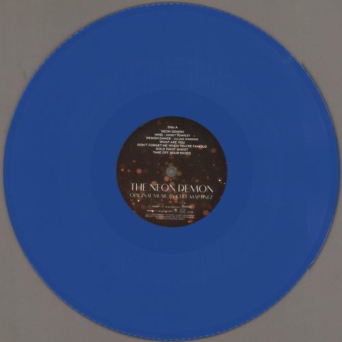Original Soundtrack The Neon Demon - Blue and Red Vinyl 2-LP vinyl record set (Double Album) UK OST2LTH749329