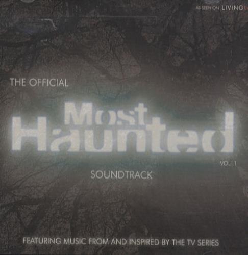 Original Soundtrack The Official Most Haunted Soundtrack Vol. 1 CD album (CDLP) UK OSTCDTH437876