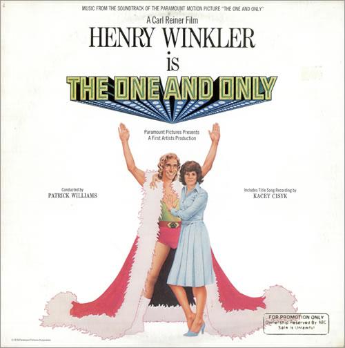Original Soundtrack The One And Only vinyl LP album (LP record) US OSTLPTH477019