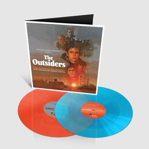 Original Soundtrack The Outsiders - Turquoise & Neon Orange Vinyl 2-LP vinyl record set (Double Album) UK OST2LTH748659