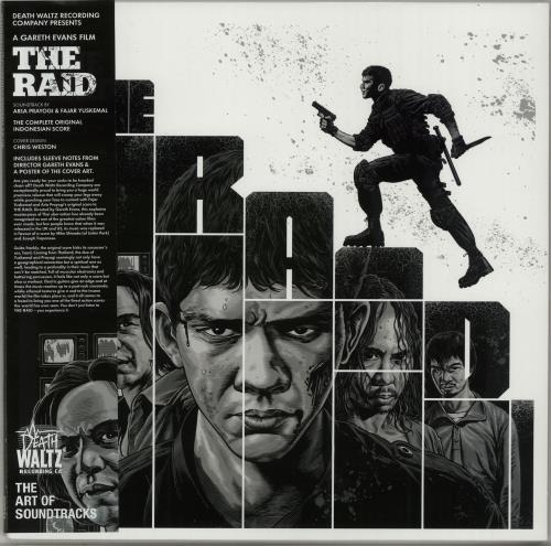 Original Soundtrack The Raid - Grey Vinyl vinyl LP album (LP record) UK OSTLPTH647953