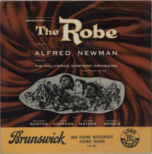Original Soundtrack The Robe vinyl LP album (LP record) UK OSTLPTH751916