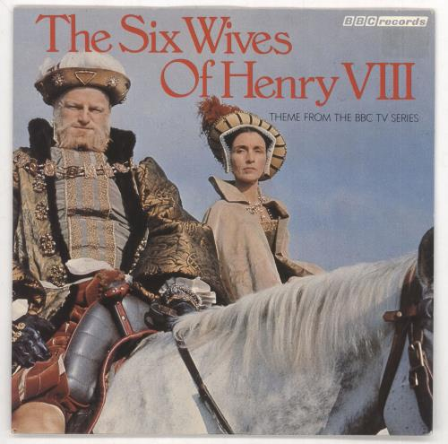 """Original Soundtrack The Six Wives Of Henry VIII 7"""" vinyl single (7 inch record) UK OST07TH731734"""