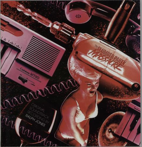 Original Soundtrack The Slumber Party Massacre - Clear Vinyl vinyl LP album (LP record) UK OSTLPTH647892