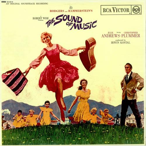 Original Soundtrack The Sound Of Music - 1st vinyl LP album (LP record) UK OSTLPTH496845