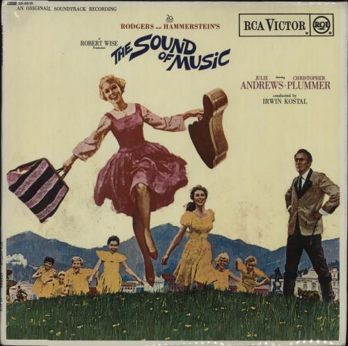 Original Soundtrack The Sound Of Music - 2nd + booklet vinyl LP album (LP record) UK OSTLPTH664975
