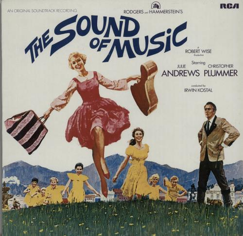 Original Soundtrack The Sound Of Music vinyl LP album (LP record) German OSTLPTH643947