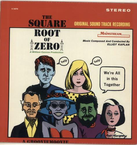 Original Soundtrack The Square Root Of Zero vinyl LP album (LP record) US OSTLPTH692542