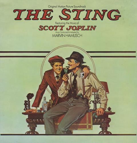 Original Soundtrack The Sting vinyl LP album (LP record) UK OSTLPTH412003