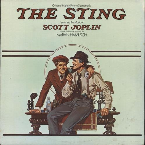 Original Soundtrack The Sting vinyl LP album (LP record) Australian OSTLPTH727560
