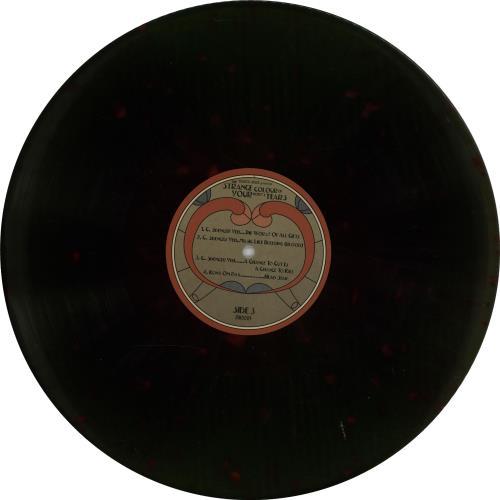 Original Soundtrack The Strange Colour Of Your Body's Tears - Green & Blue Splattered Vinyl 2-LP vinyl record set (Double Album) UK OST2LTH647936