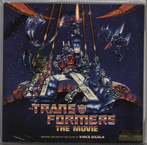 Original Soundtrack The Transformers: The Movie - 180gm 2-LP vinyl record set (Double Album) US OST2LTH754646