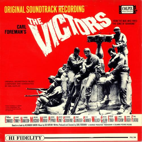 Original Soundtrack The Victors vinyl LP album (LP record) UK OSTLPTH490172