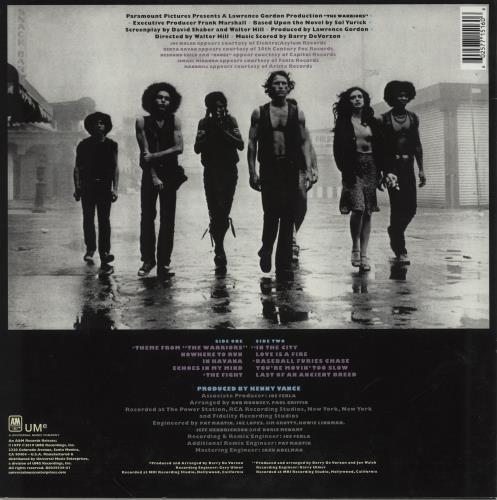 Original Soundtrack The Warriors - Transparent Violet vinyl vinyl LP album (LP record) UK OSTLPTH752353