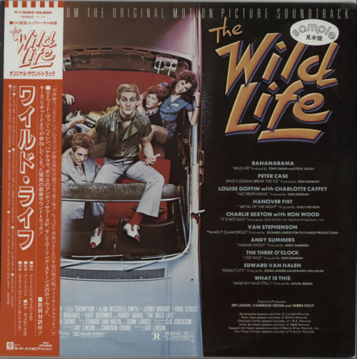 Original Soundtrack The Wild Life vinyl LP album (LP record) Japanese OSTLPTH620017