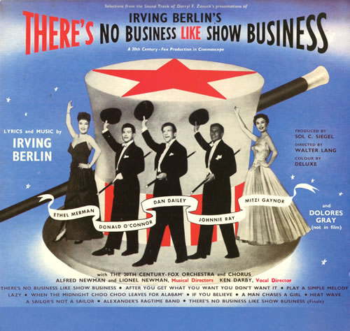 Original Soundtrack There's No Business Like Show Business vinyl LP album (LP record) UK OSTLPTH563661