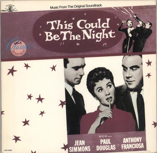 Original Soundtrack This Could Be The Night vinyl LP album (LP record) US OSTLPTH712283