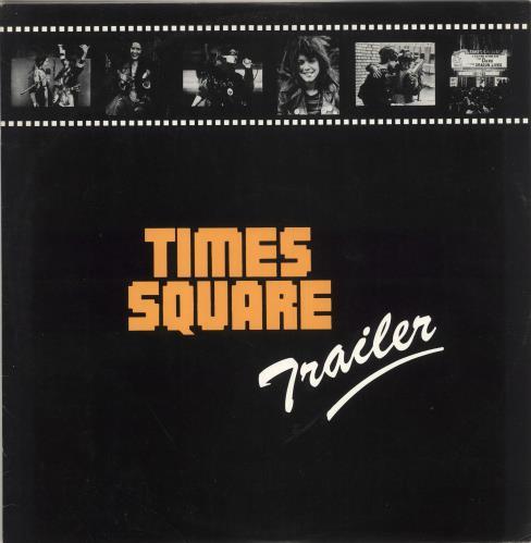 """Original Soundtrack Times Square Trailer 12"""" vinyl single (12 inch record / Maxi-single) UK OST12TI214145"""
