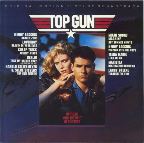 Original Soundtrack Top Gun - Sealed vinyl LP album (LP record) UK OSTLPTO771217