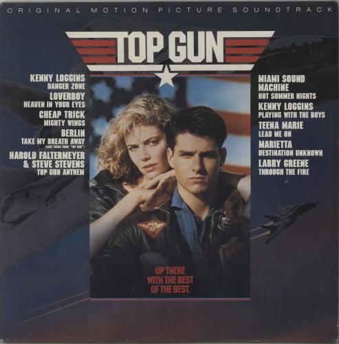 Original Soundtrack Top Gun vinyl LP album (LP record) UK OSTLPTO656369