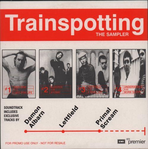 "Original Soundtrack Trainspotting: The Sampler CD single (CD5 / 5"") UK OSTC5TR75498"