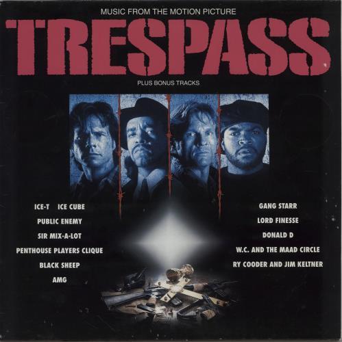 Original Soundtrack Trespass (Music From The Motion Picture) vinyl LP album (LP record) German OSTLPTR754685