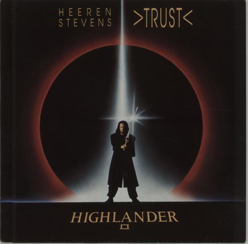 "Original Soundtrack Trust 12"" vinyl single (12 inch record / Maxi-single) German OST12TR676080"