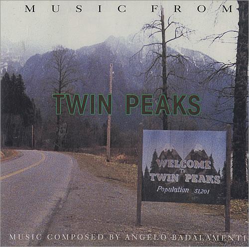 Original Soundtrack Twin Peaks CD album (CDLP) German OSTCDTW20333