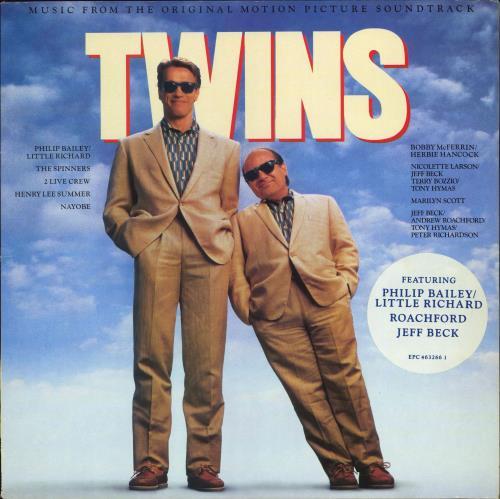 Original Soundtrack Twins vinyl LP album (LP record) UK OSTLPTW774600