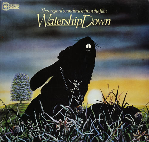 Original Soundtrack Watership Down vinyl LP album (LP record) UK OSTLPWA563295