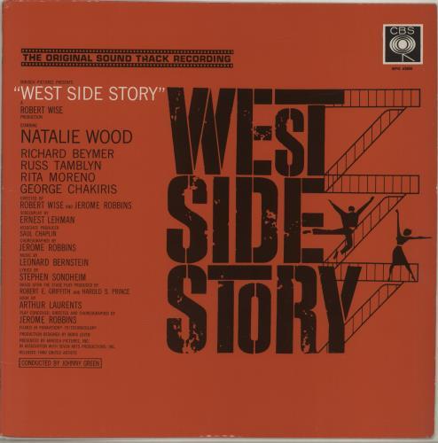 Original Soundtrack West Side Story - 2nd vinyl LP album (LP record) UK OSTLPWE678269
