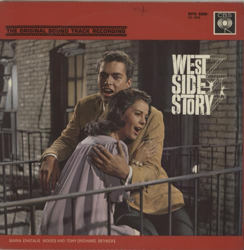 Original Soundtrack West Side Story Uk Vinyl Lp Album Lp