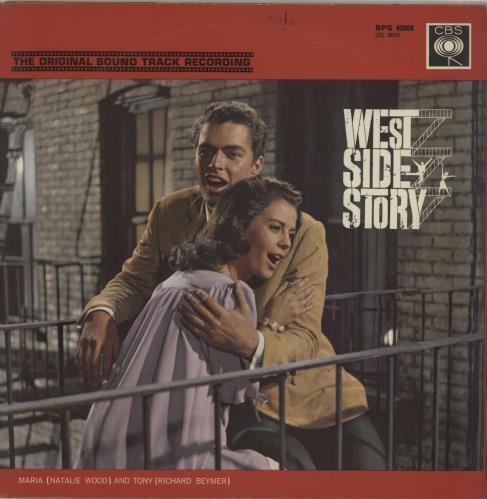 Original Soundtrack West Side Story vinyl LP album (LP record) UK OSTLPWE512520