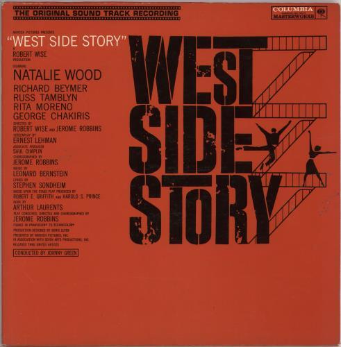 Original Soundtrack West Side Story vinyl LP album (LP record) US OSTLPWE726813