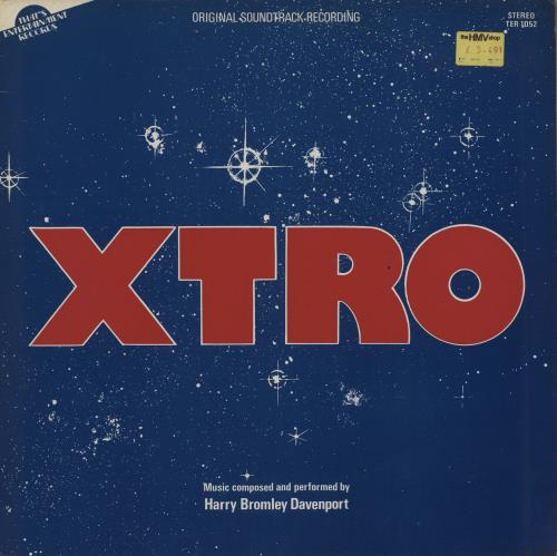 Original Soundtrack Xtro vinyl LP album (LP record) UK OSTLPXT755634