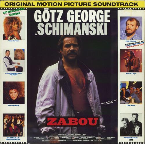 Original Soundtrack Zabou vinyl LP album (LP record) German OSTLPZA107434