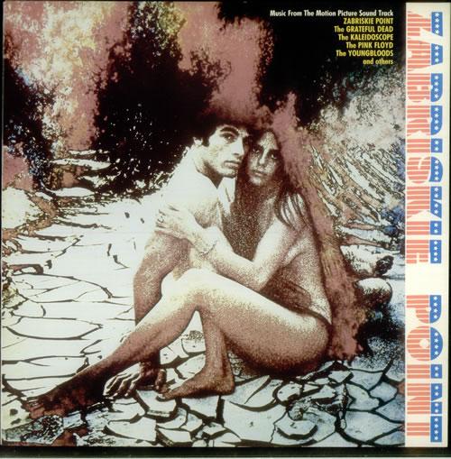 Original Soundtrack Zabriskie Point vinyl LP album (LP record) UK OSTLPZA546861