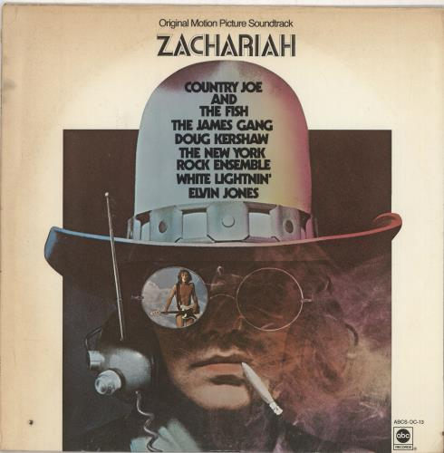 Original Soundtrack Zachariah vinyl LP album (LP record) US OSTLPZA749192