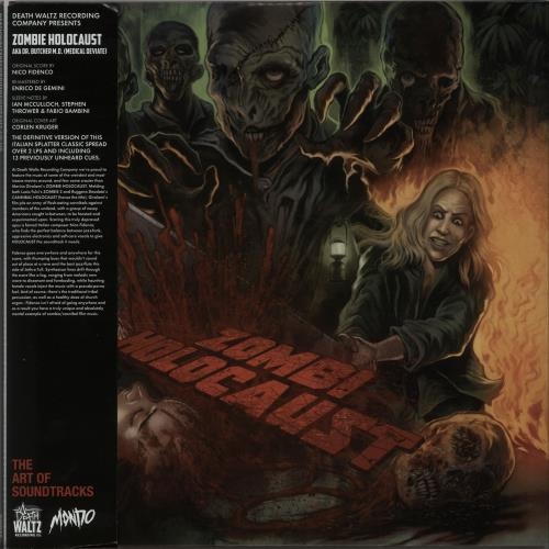Original Soundtrack Zombi Holocaust - Multicoloured Swirl Splattered Vinyl 2-LP vinyl record set (Double Album) UK OST2LZO647933