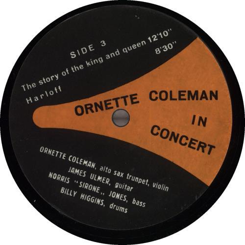 Ornette Coleman In Concert Vinyl Box Set US ORCVXIN709271